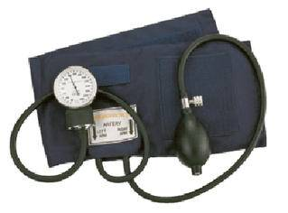 Pocket AneroidGauge:high quality – 300mmhg. Bulb & Valve:Latex with 2 valves. Cuff & Bladder:high quality navy blue nylon – easily washable; fully calibrated.